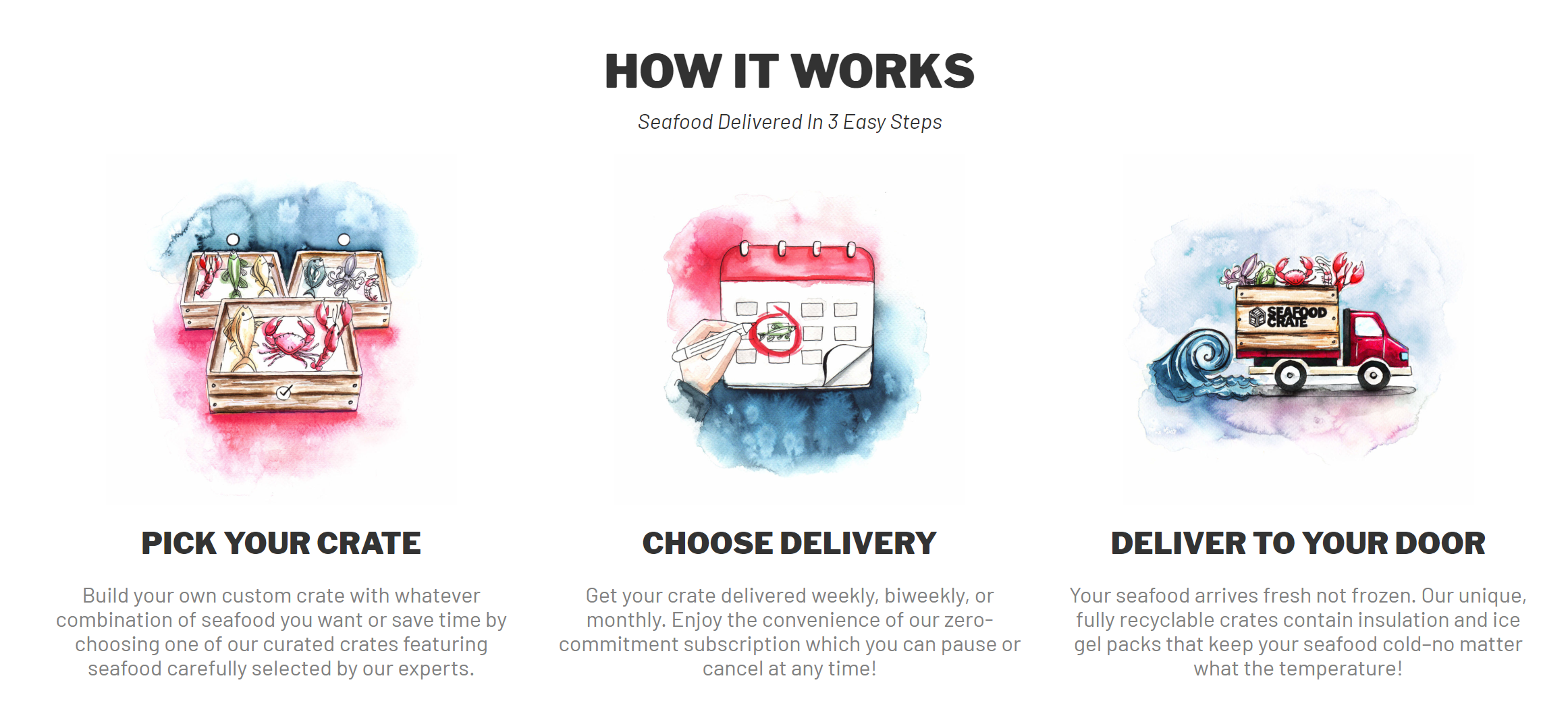 SEAFOOD CRATE LAUNCHES PREMIUM SEAFOOD HOME DELIVERY SUBSCRIPTION SERVICE