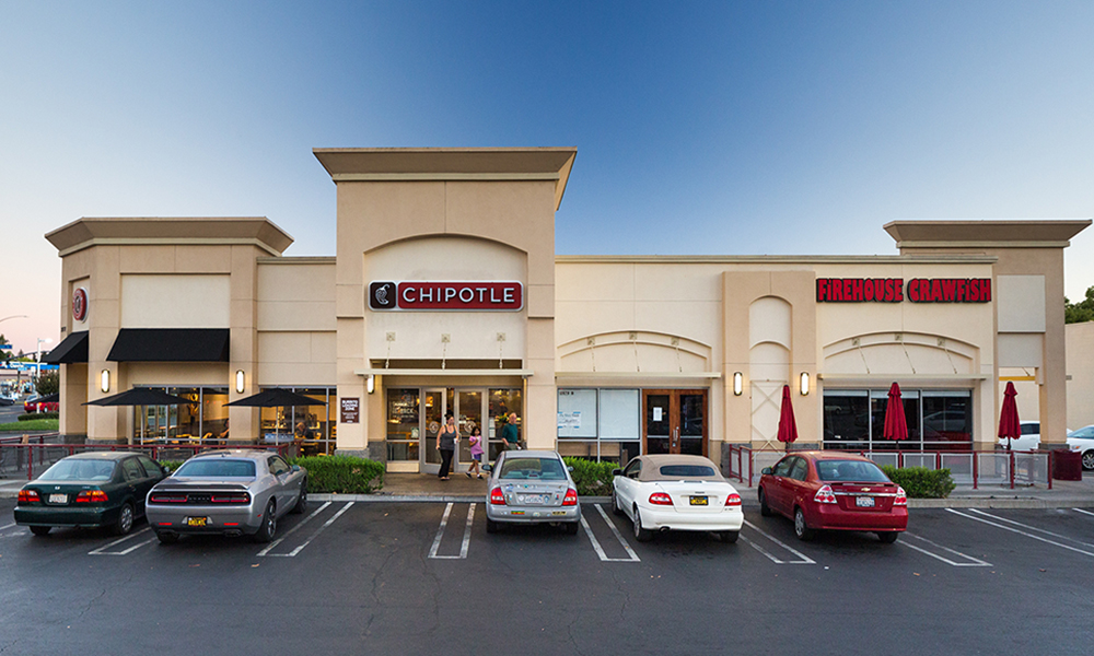 Hanley Investment Group Arranges Sale of Two-Tenant Chipotle and Firehouse Crawfish Retail Property at 99 Cents Only-Anchored Shopping Center in Rancho Cordova, Calif.