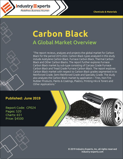 Owing to Withstanding Adverse Weather Conditions and High Resistance to Wear & Tear, Global Demand for Carbon Black is Expected to Reach 20 Million Metric Tons by 2024