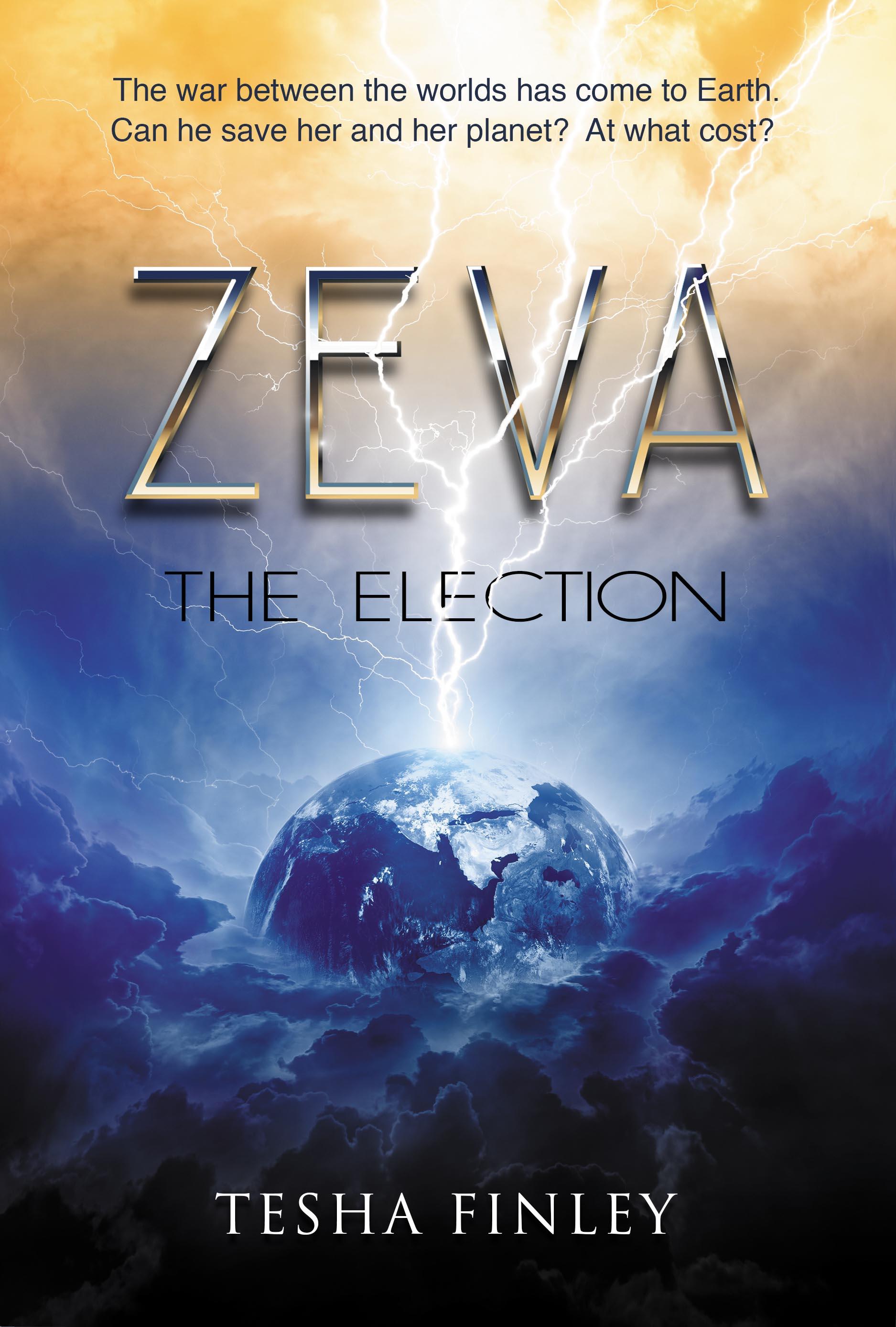 Tesha Finley's new book, Zeva: The Election, receives rave reviews