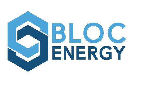 Bloc Energy LLC Announces Its Official Launch