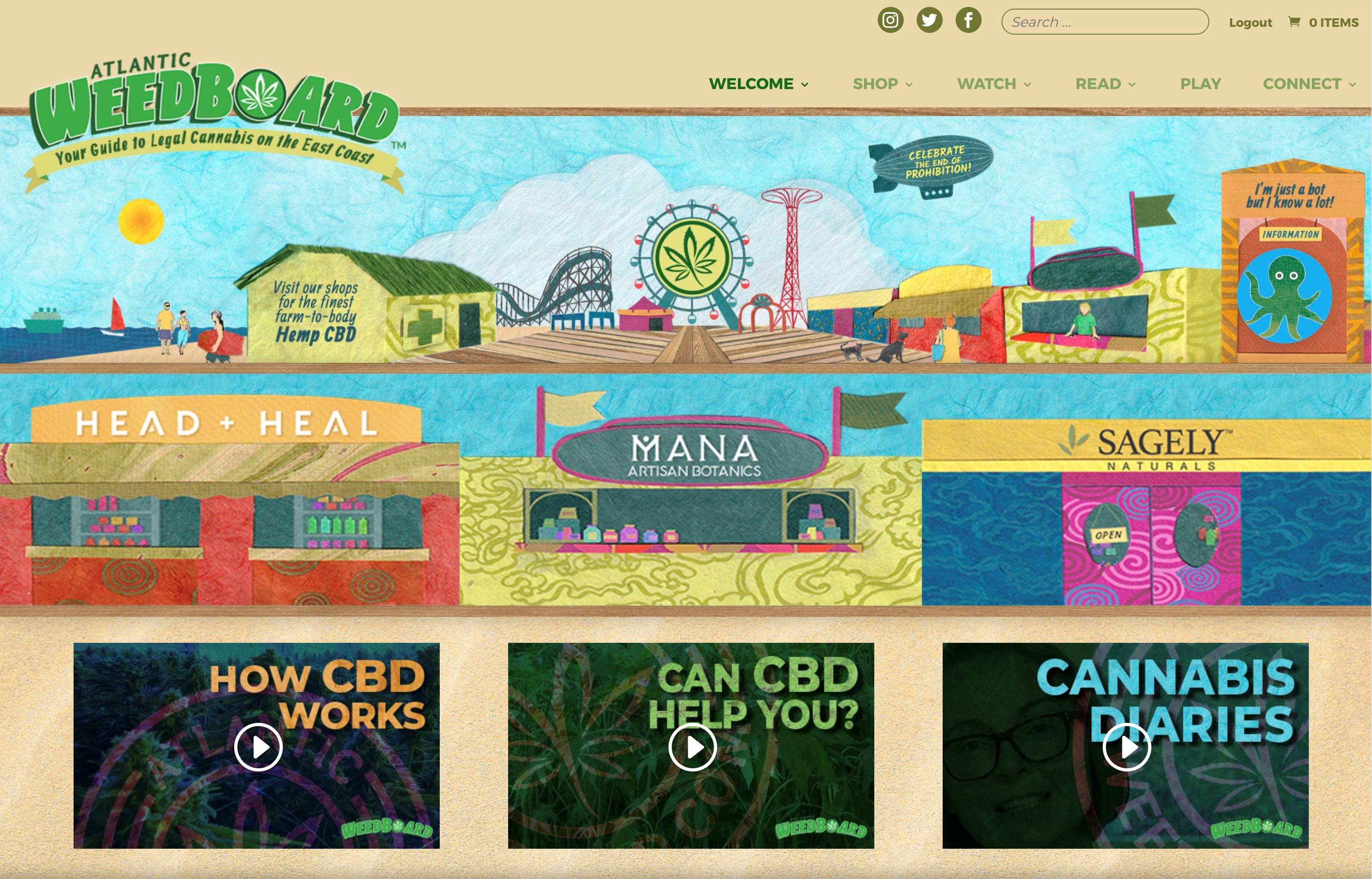 Atlantic WeedBoard.com Presents 'Five Minutes with Dr. Dina' Hollywood's Medical Marijuana Maven