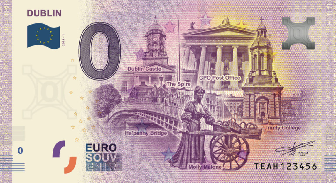 Euro Note Souvenir Releases Three New Zero-Euro Notes in June 2019