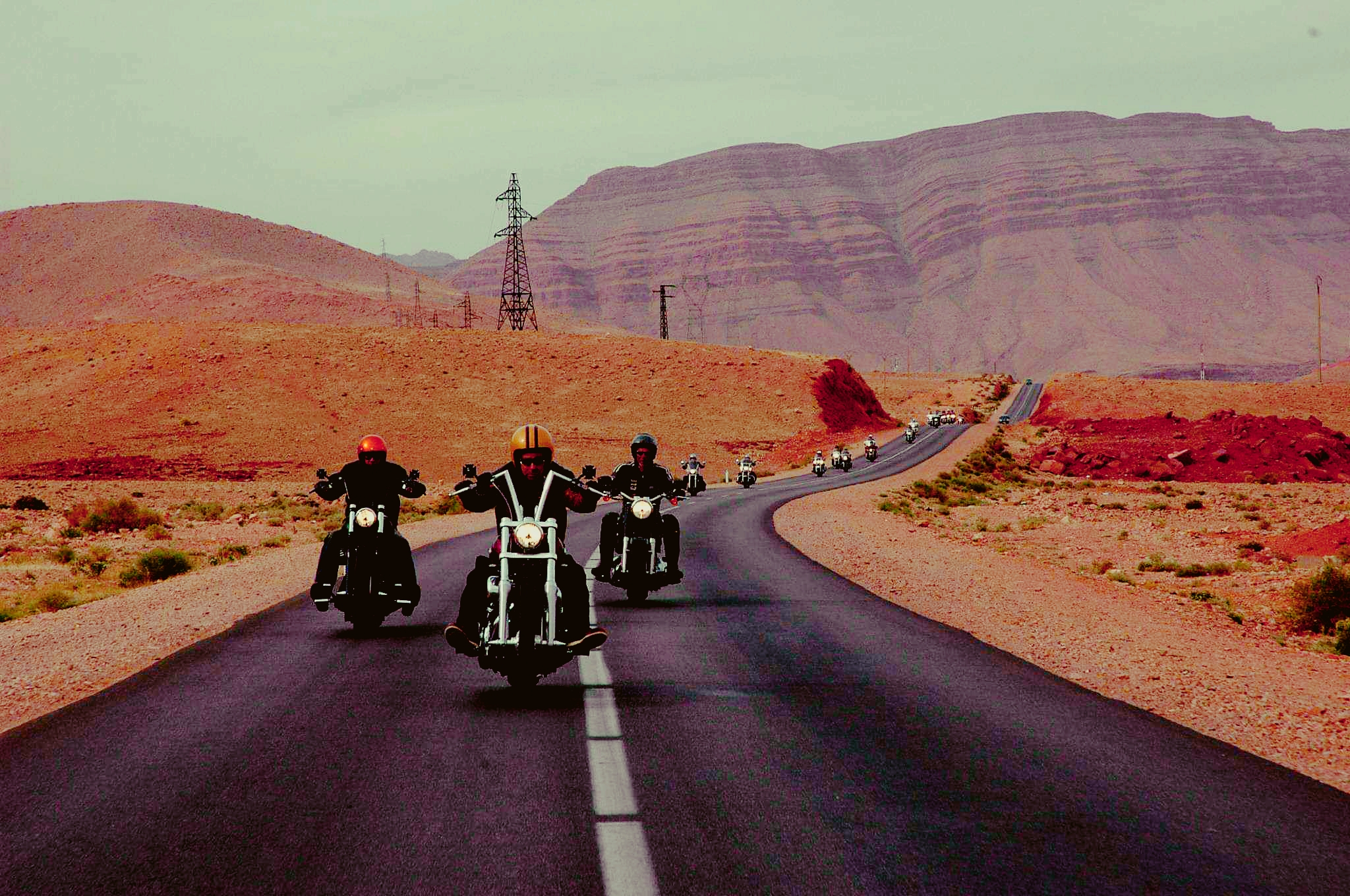 Take a Ride through the Magnificent Land of Morocco on the back of a Harley Davidson