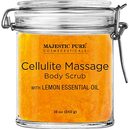Majestic Pure Releases All-Natural Cellulite Massage Body Scrub on Amazon at a Competitive Price