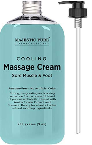 Majestic Pure Releases All-Natural Pure Cooling Massage Cream on Amazon at a Competitive Price