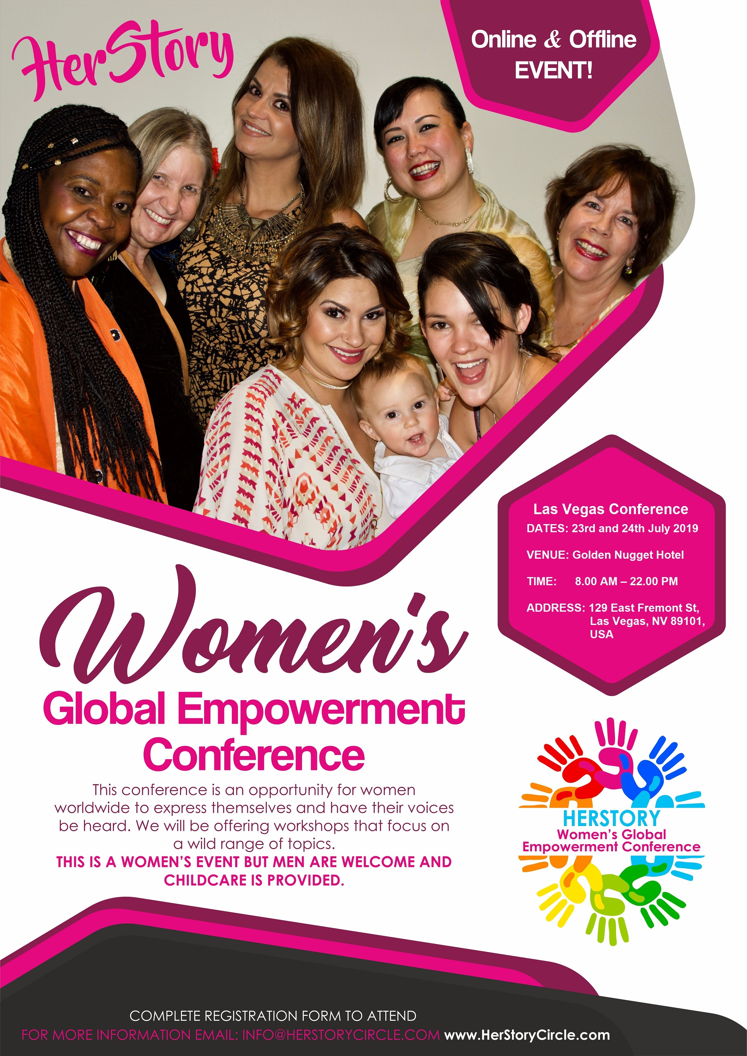 Herstory Women's Global Empowerment Inaugural Conference is Launching in Las Vegas, USA