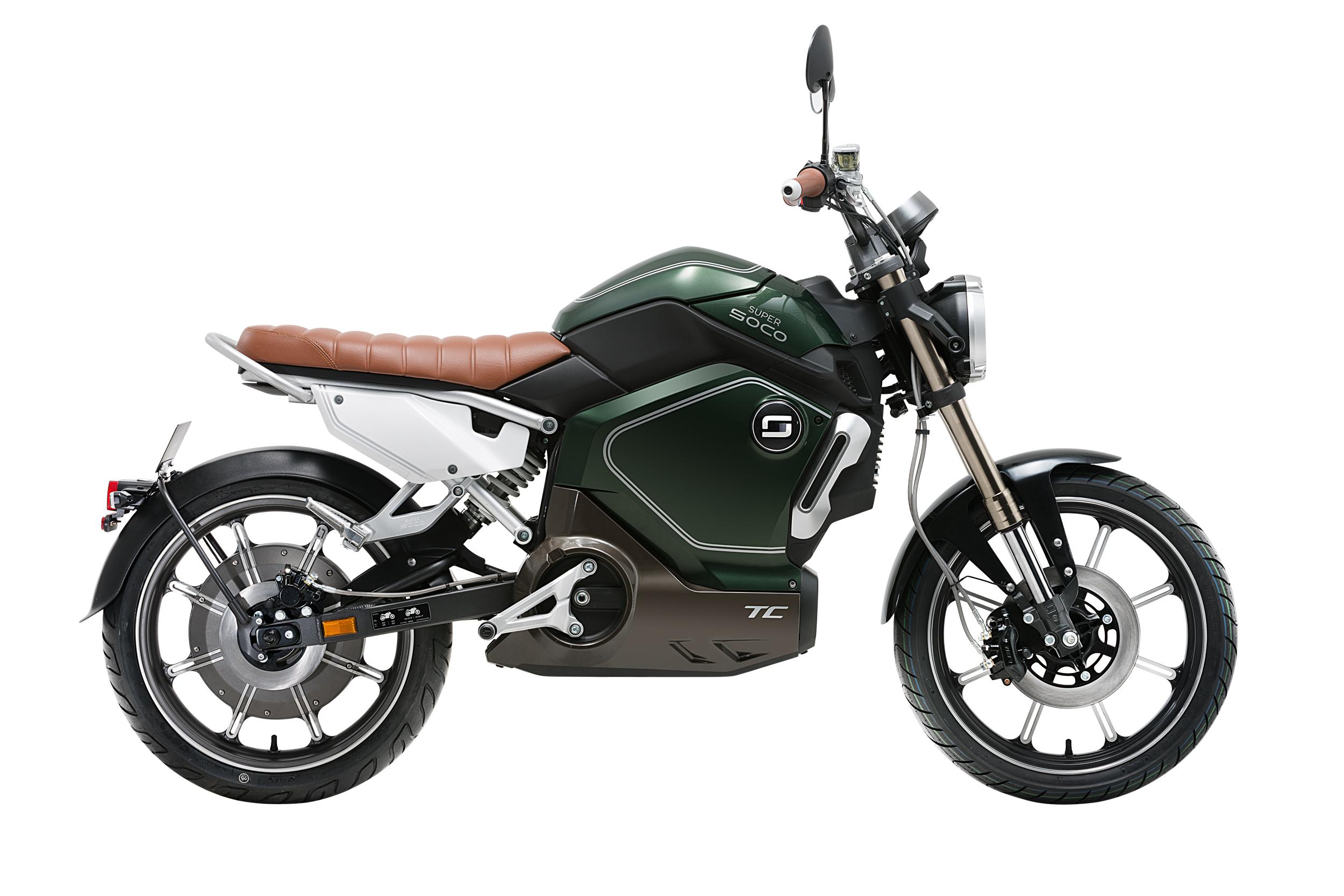 Motorino e-bikes Announce the addition of the Motorino Super Soco TS and TC, to its electric bike fleet