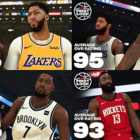 NBA 2K20 Player Ratings: The Introduction Of The Top 10 Players