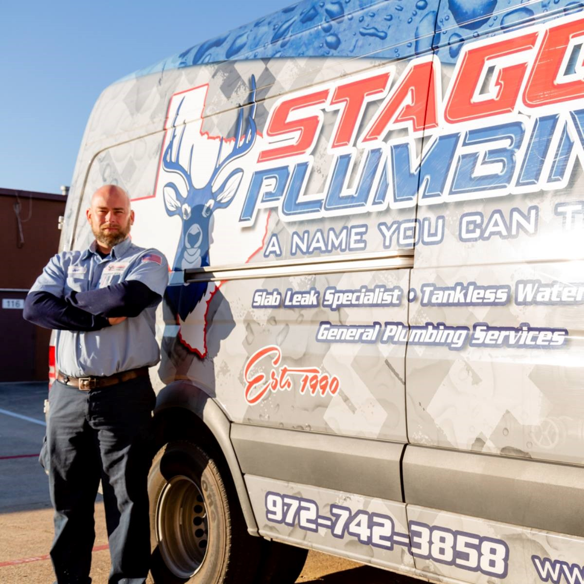 Staggs Plumbing Celebrates 29 Years in North Dallas