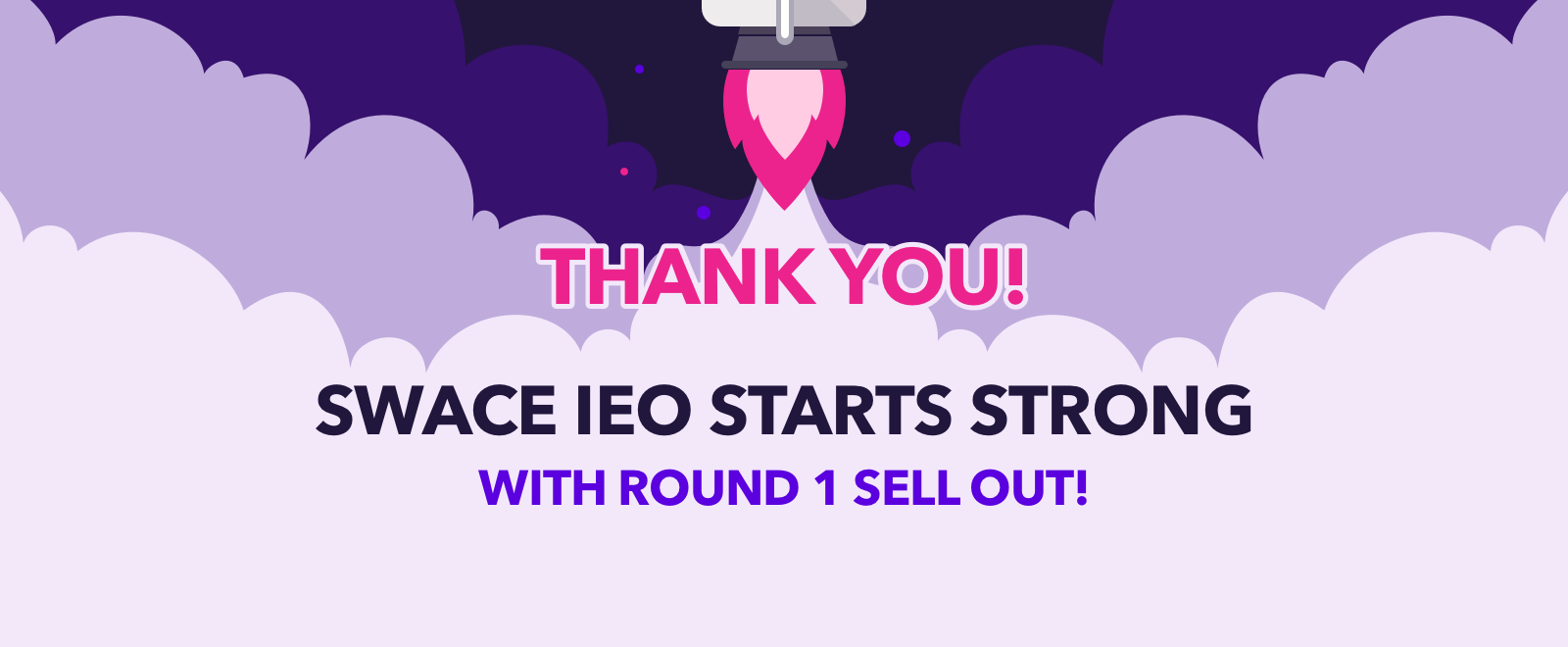 SWACE: ROARING success of The first round of IEO