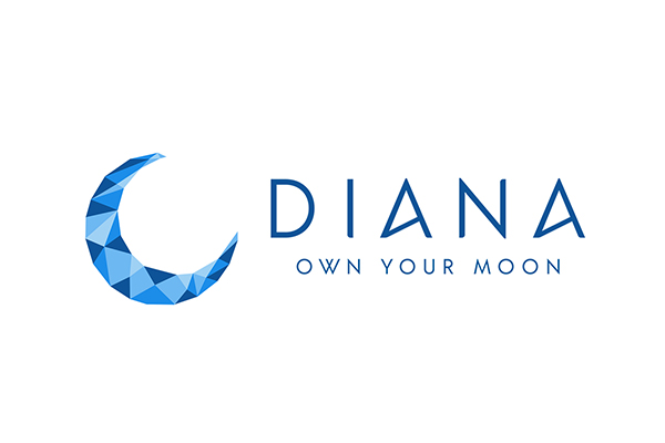 Diana's blockchain based moon registry is getting the moon ownership back to the citizens of the world