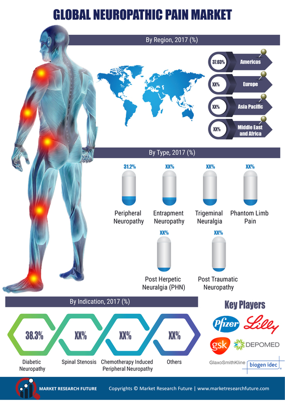 Neuropathic Pain Market To Swell at 6.06% CAGR and Cross US $8017.43 Mn By 2023 | Worldwide Analysis By Types, Indication, Symptoms, Diagnosis, Treatments and Distribution Channel with Regional Trends
