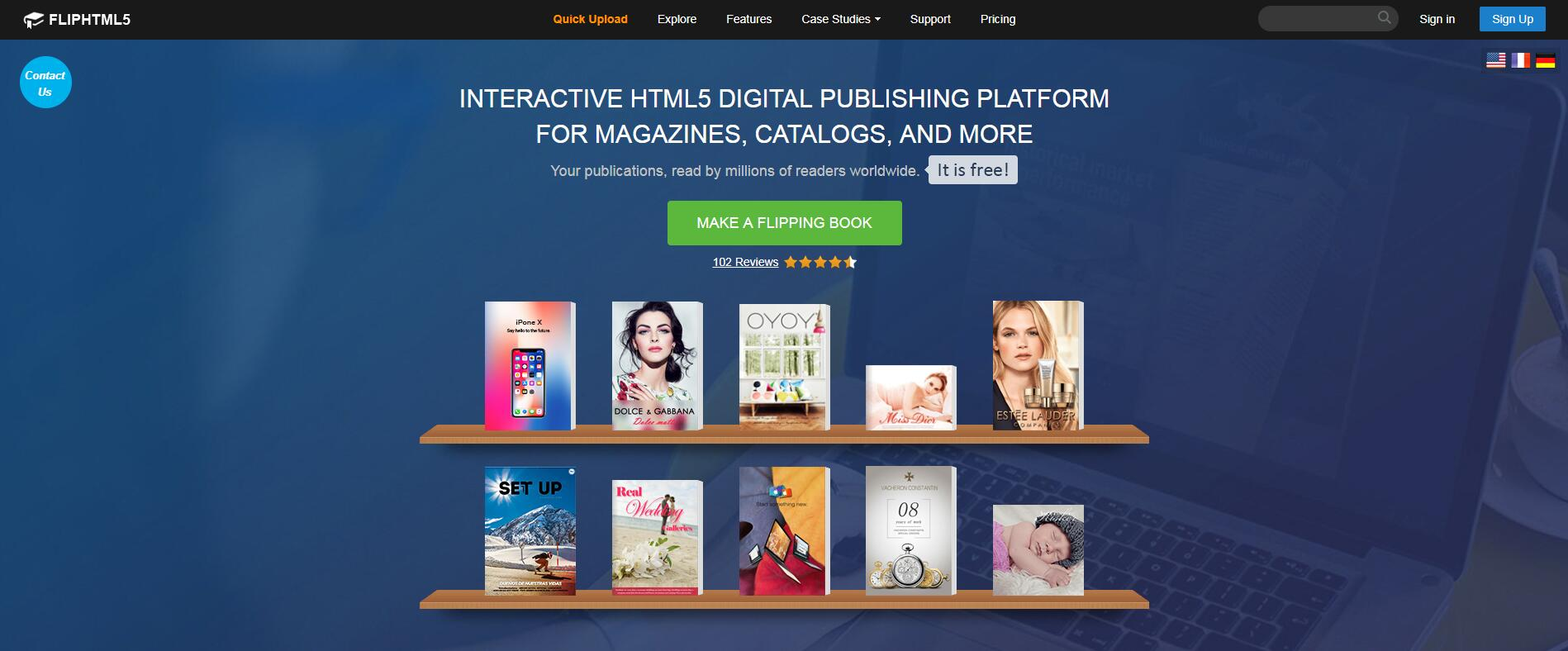 FlipHTML5 Rolls Out an Online Flipbook Publisher for Online Publishing