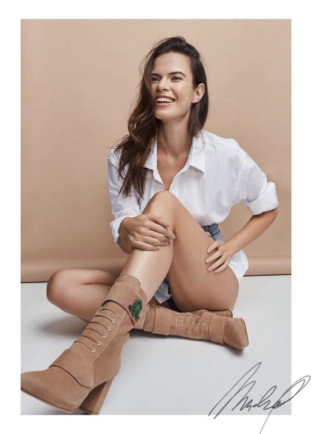 Michaela Vybohova's Shoe Line draws A Lot of Attention