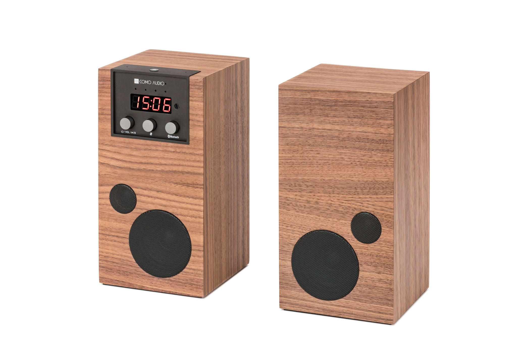 Como Audio Introduces the World's First Voice Activated Smart Speaker System in Real Two Channel Stereo