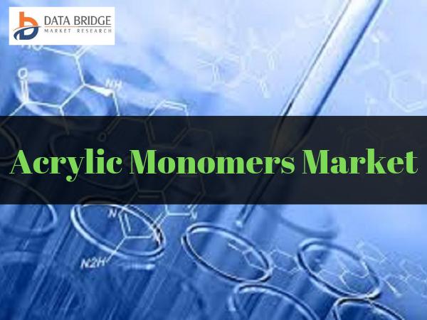 Global Acrylic Monomers Market reach USD 11,124 million by 2025, Analysis Study with LG Chem, Kuraray Co. Ltd., Rohm and haas, Formosa Plastics Corporation, Kailash Company