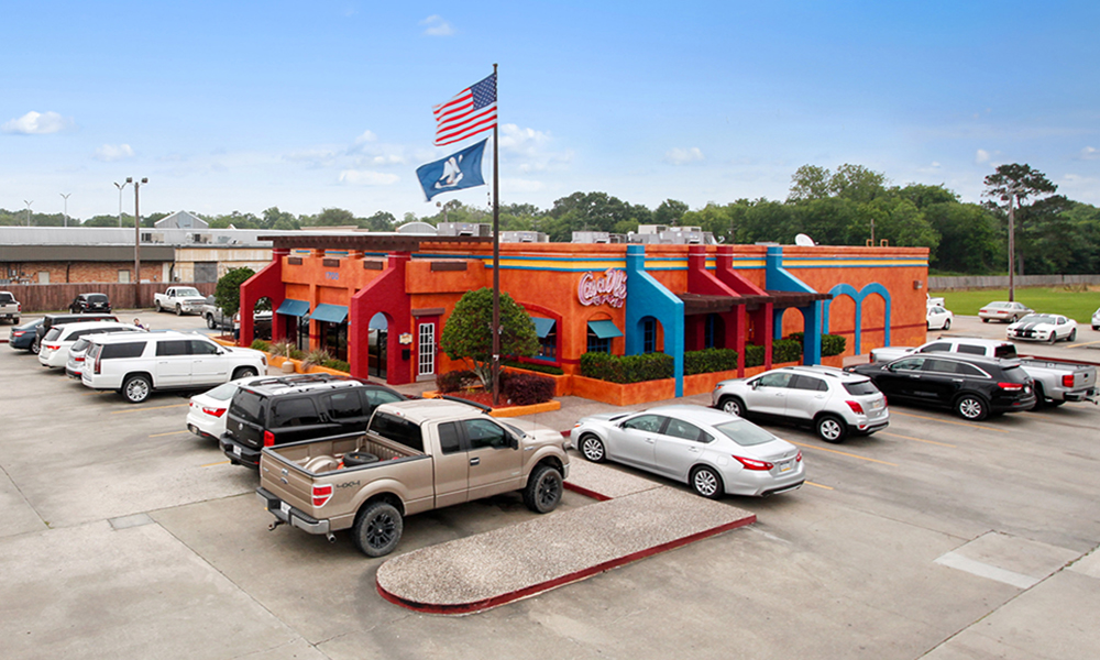 Hanley Investment Group Arranges Sale of Single-Tenant Casa Olé Restaurant in Lake Charles Metro, Louisiana