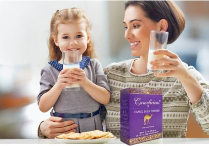 Camelicious® Camel Milk Now Available in the US