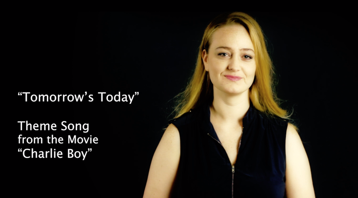 Tomorrow\'s Today Official Music Video for Charlie Boy features Deaf Actress Amelia Hensley