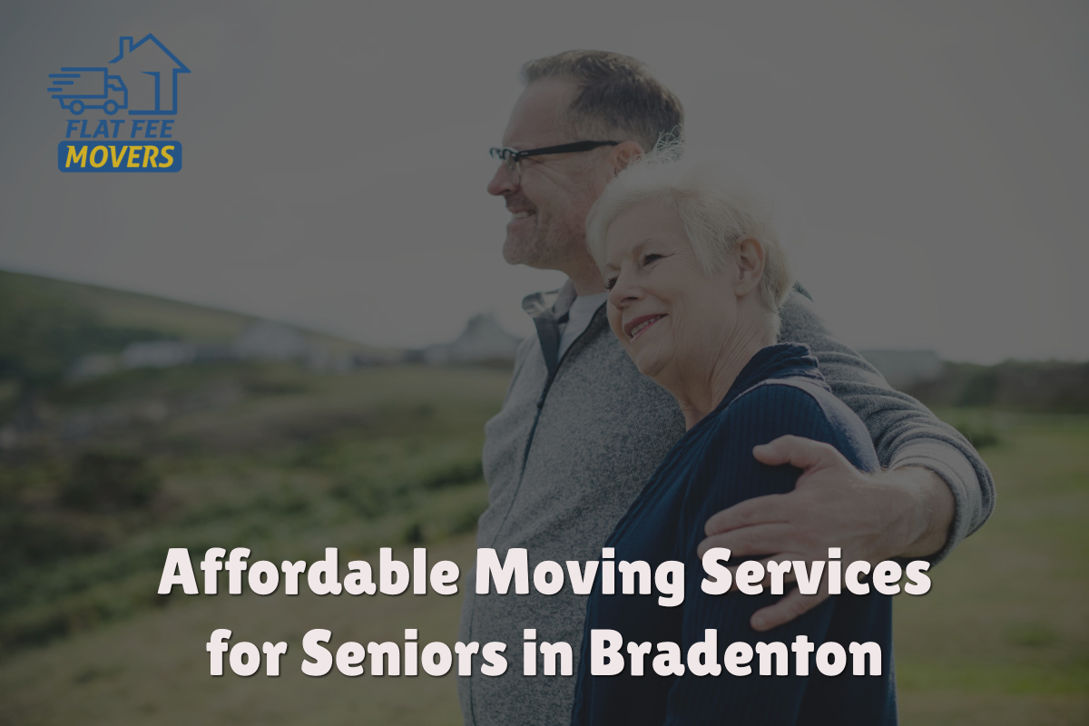 Flat Fee Movers Bradenton Offers Moving Discount for Seniors in August