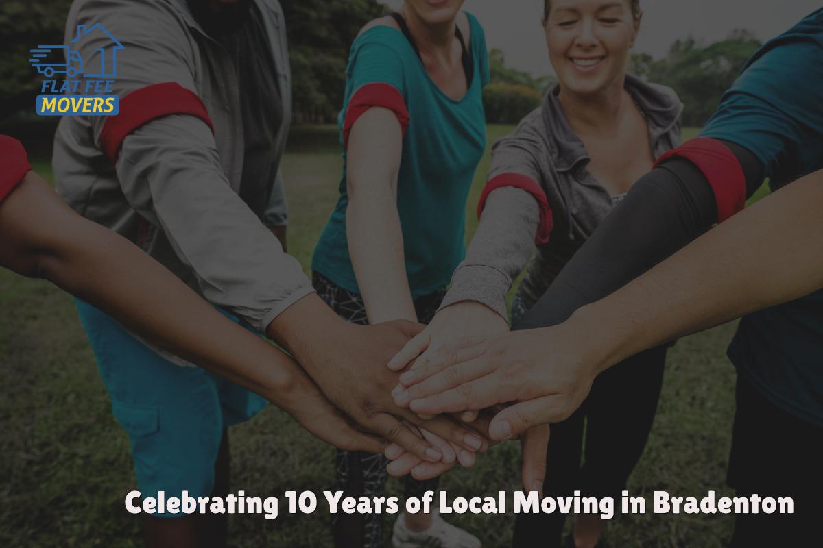Flat Fee Movers in Bradenton Celebrates More Than 10 Years of Residential Moving