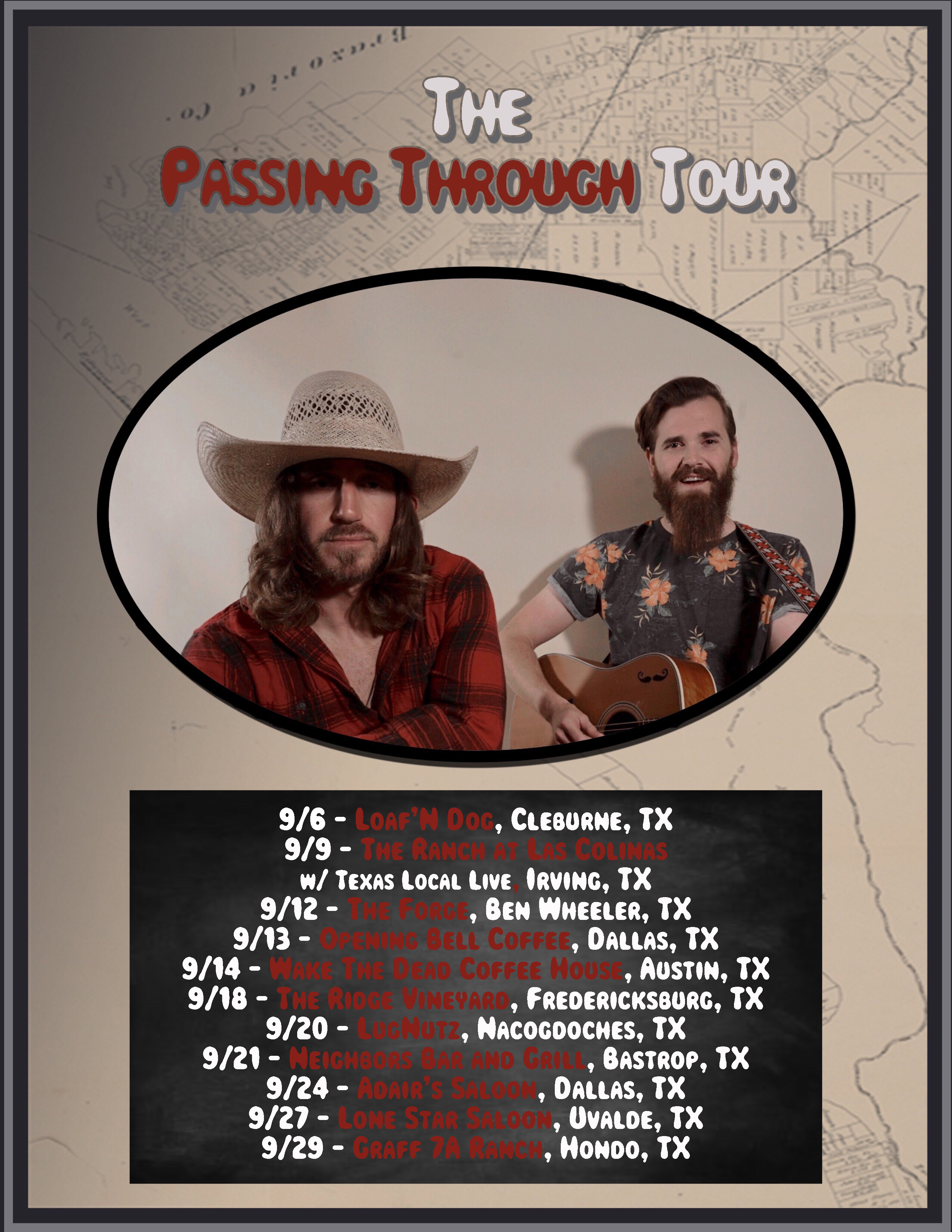 Top 20 iTunes Country Artist Jeremy Parsons Returns To Texas For September Concert Dates