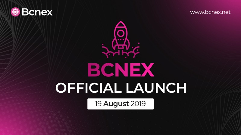 Bcnex Officially Launches Global Blockchain Trading Platform