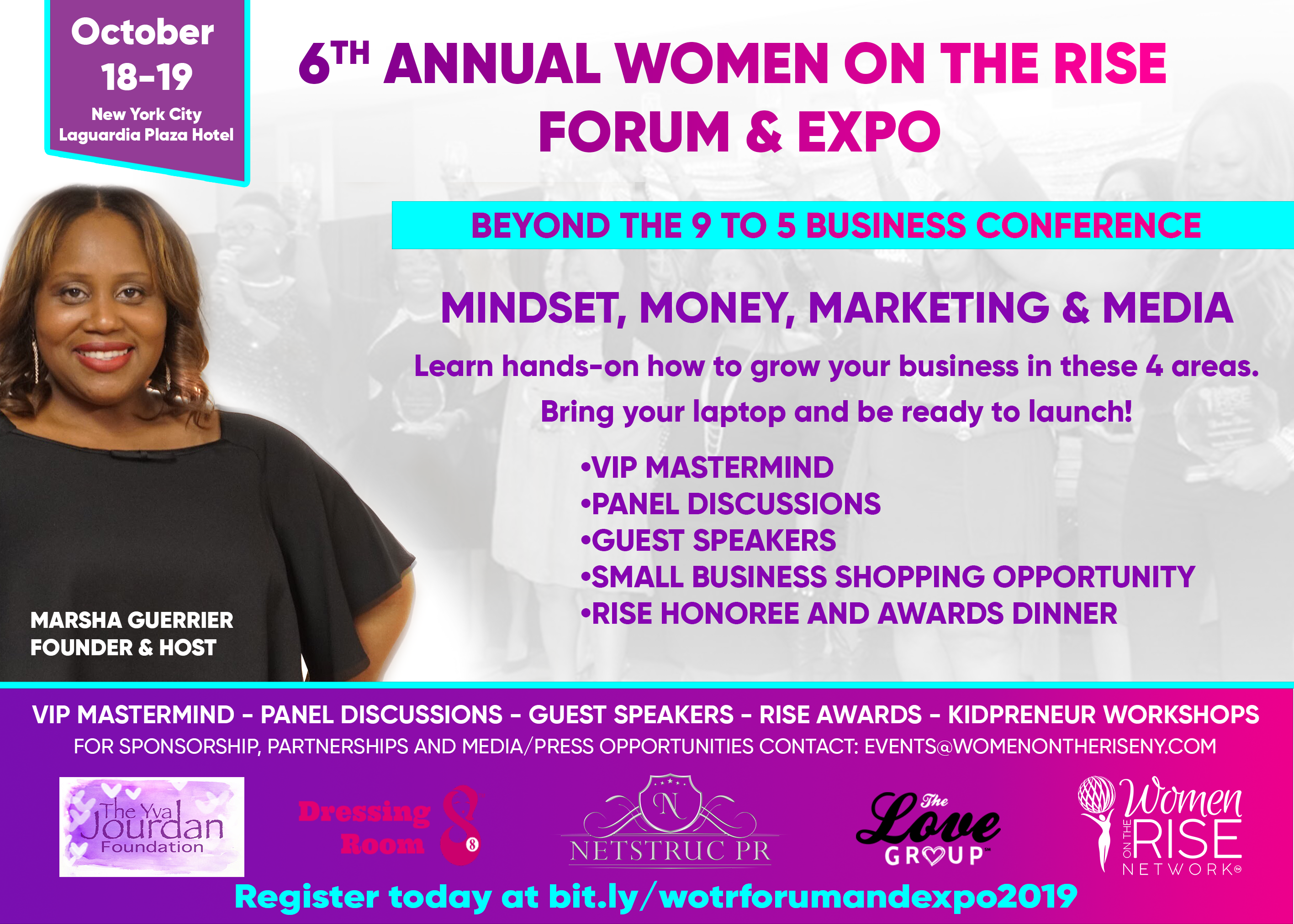Women on the Rise Forum & Expo returns to the Laguardia Plaza Hotel