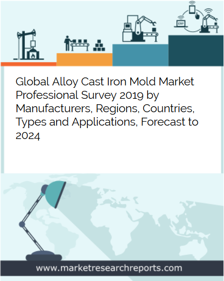 Global Alloy Cast Iron Mold market is growing at a CAGR of 3.86% and expected to reach USD 4.866 Billion by 2024 from USD 3.877 Billion in 2018