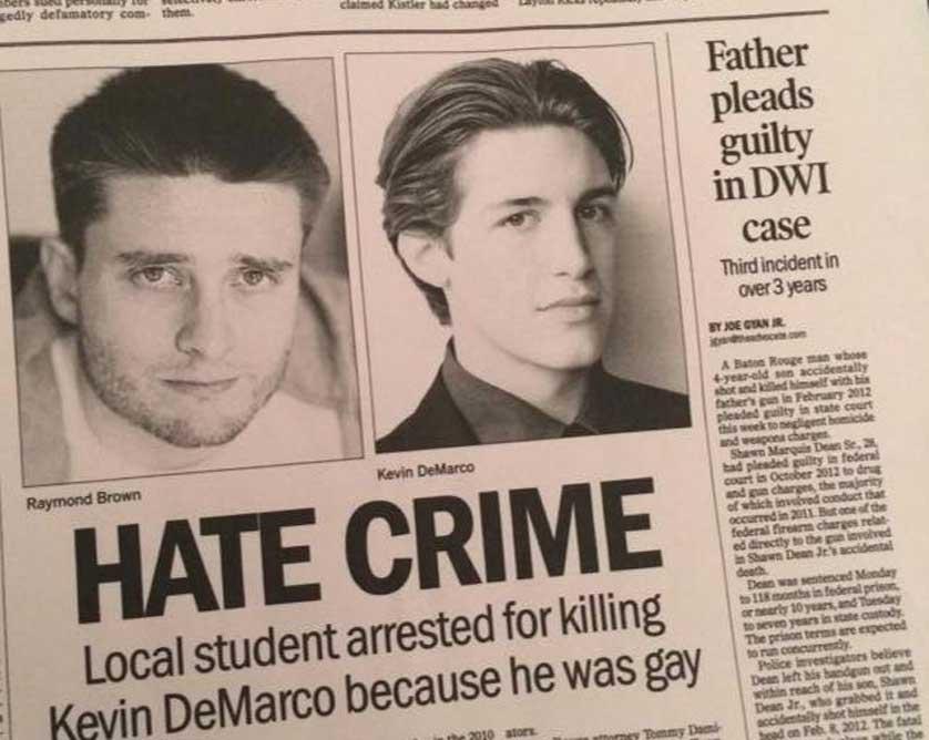 FEAR, SHAME, TRUTH: TRICOAST DROPS TRAILER & FALL RELEASE DATE FOR HARD-HITTING DRAMA 'HATE CRIME' STARRING KEVIN BERNHARDT, AMY REDFORD & JOHN SCHNEIDER