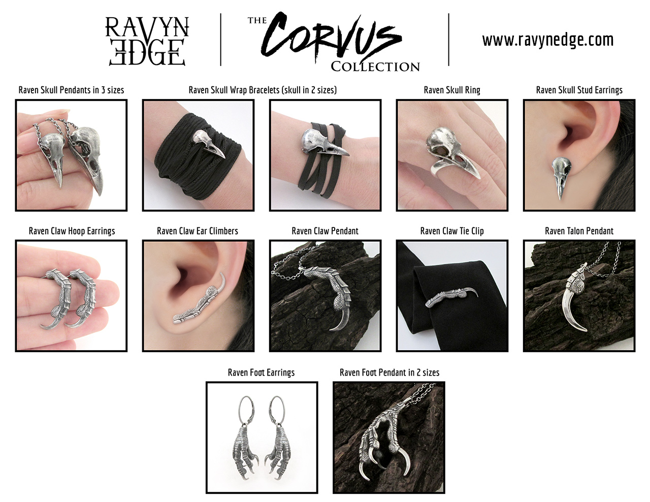 Tiffany J. Tinsley of RavynEdge is Set to Wow Jewelry Lovers with Her All-New Signature Line of Jewelry, The Corvus Collection