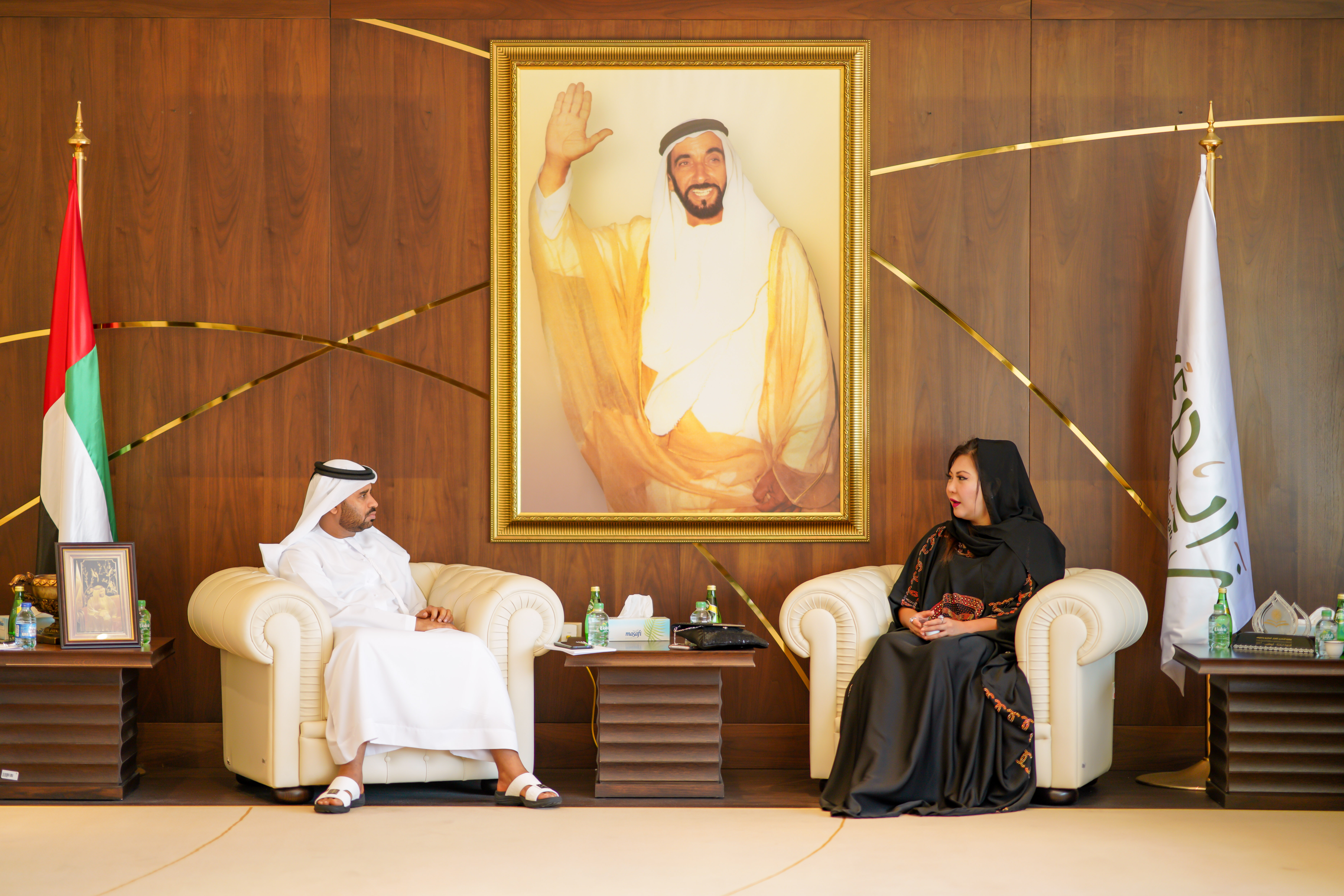 Princess Maria Amor Visits The Zayed Charitable Foundation in UAE