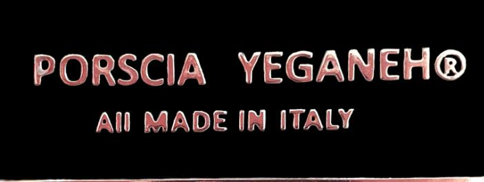 PORSCIA YEGANEH® PRESENTS NEW LABEL TAGGED 'All MADE IN ITALY'