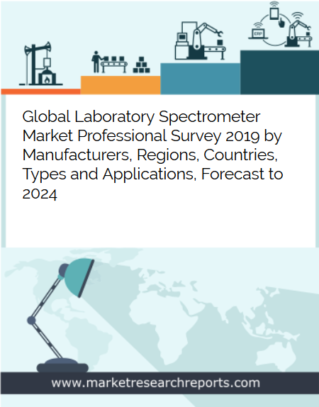 Global Laboratory Spectrometer market is growing at a CAGR of 10.65% and expected to reach USD 559.99 Million by 2024 from USD 305.12 Million in 2018