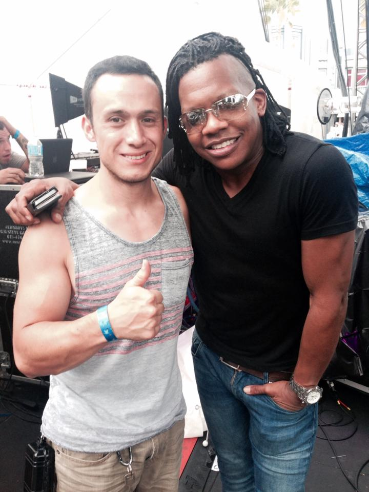 Producer making Colombian music, American