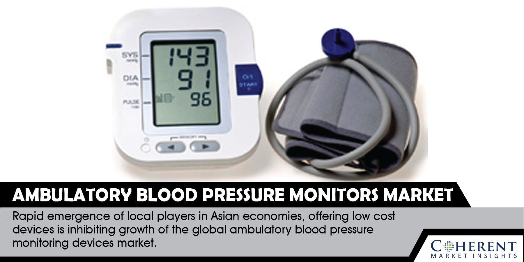 At 8.0% CAGR, Ambulatory Blood Pressure Monitors Market to Surge Past US$ 1.9 Billion by 2025