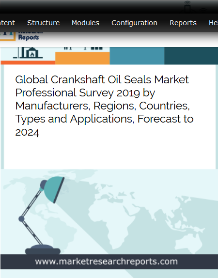Global Crankshaft Oil Seals market is growing at a CAGR of 2.88% and expected to reach USD 1010.66 Million by 2024 from USD 852.35 Million in 2018