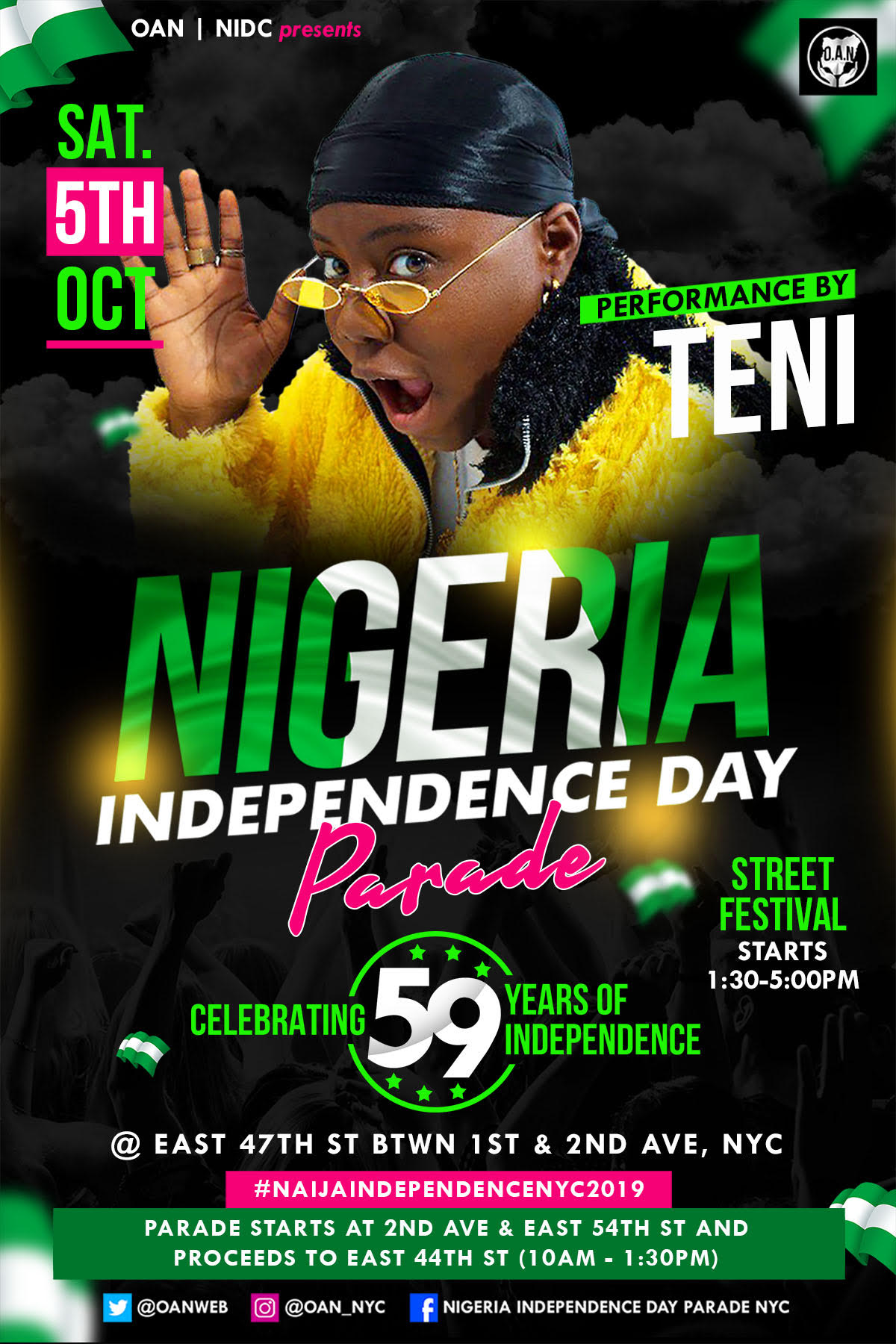 NYC NIGERIAN INDEPENDENCE DAY PARADE & CARNIVAL
