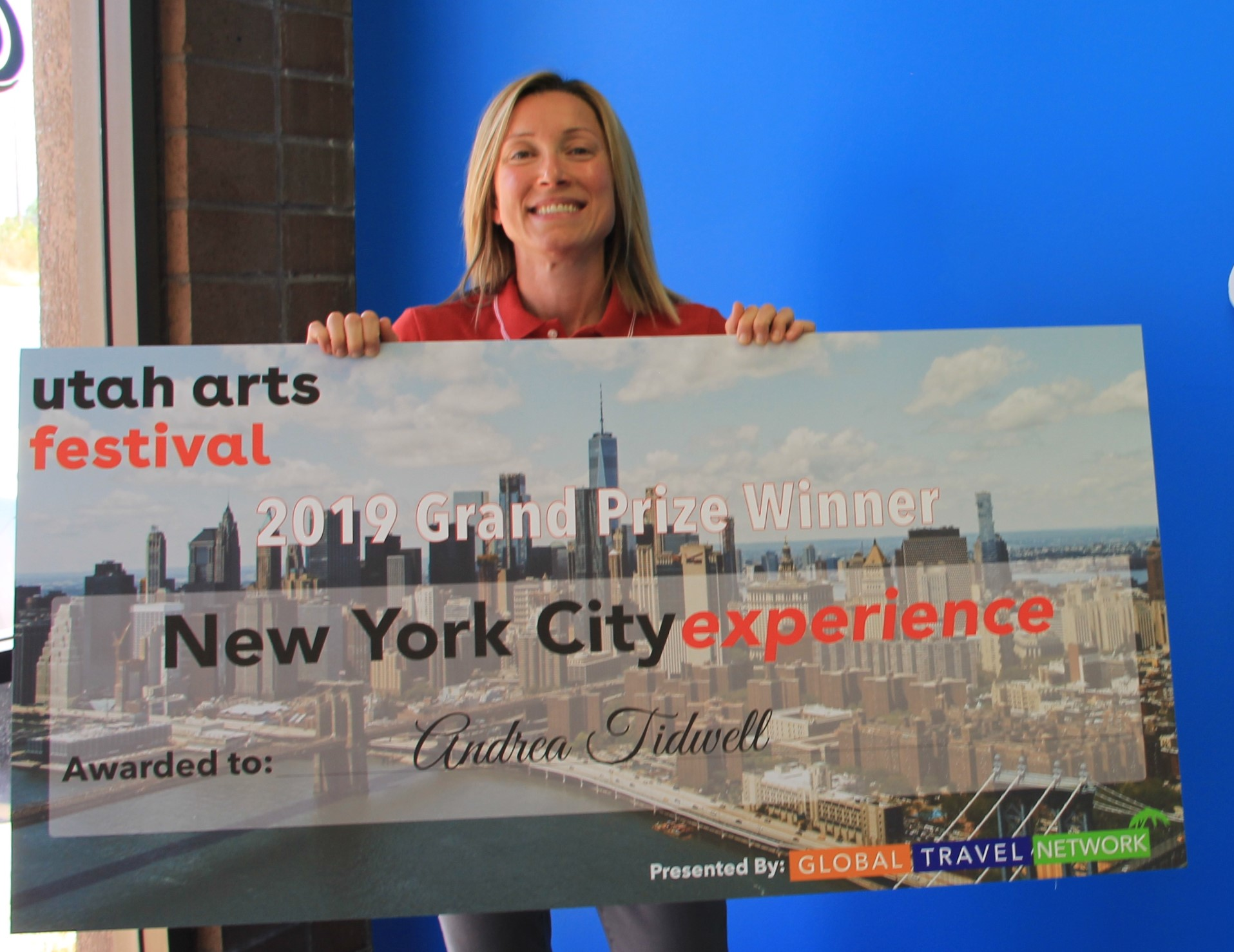 Global Travel Network Awards Grand Prize at Utah Art Festival