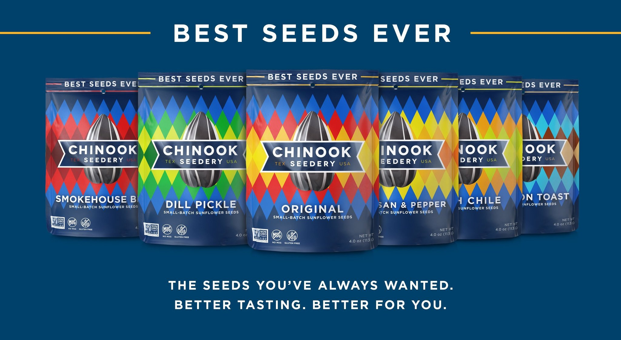 Chinook Seedery is now offered Nationwide Through Mr. Checkout\'s Direct Store Delivery Distributors.