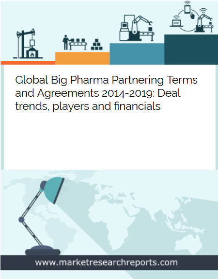 Global Big Pharma Partnering Terms and Agreements 2014 - 2019 Market Research Report