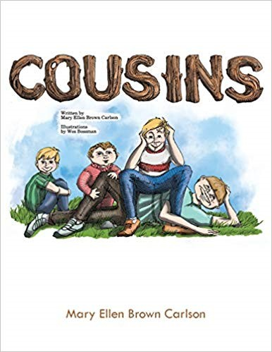 Cousins by Mary Ellen Brown Carlson - Adventure in the Woods of Cousins behind their Grandparents' Home