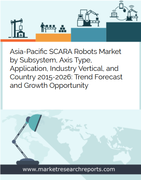 Asia Pacific SCARA Robots Market to Reach USD 5.38 Billion by 2026 in terms of Robot Systems; Find New Report