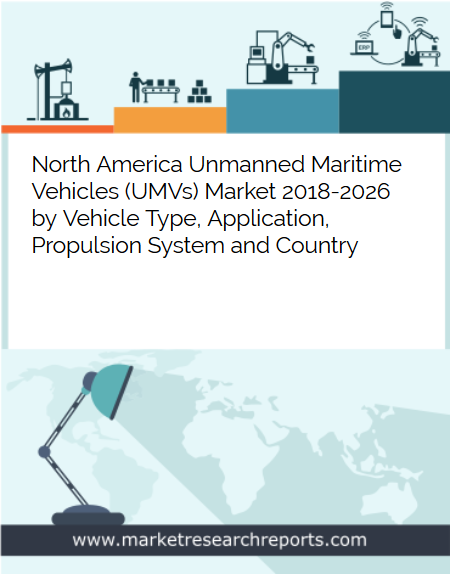 North America Unmanned Maritime Vehicles (UMVs) Market to Reach USD 2.47 Billion by 2026 in terms of CAPEX (Capital Expenditure); Finds New Report
