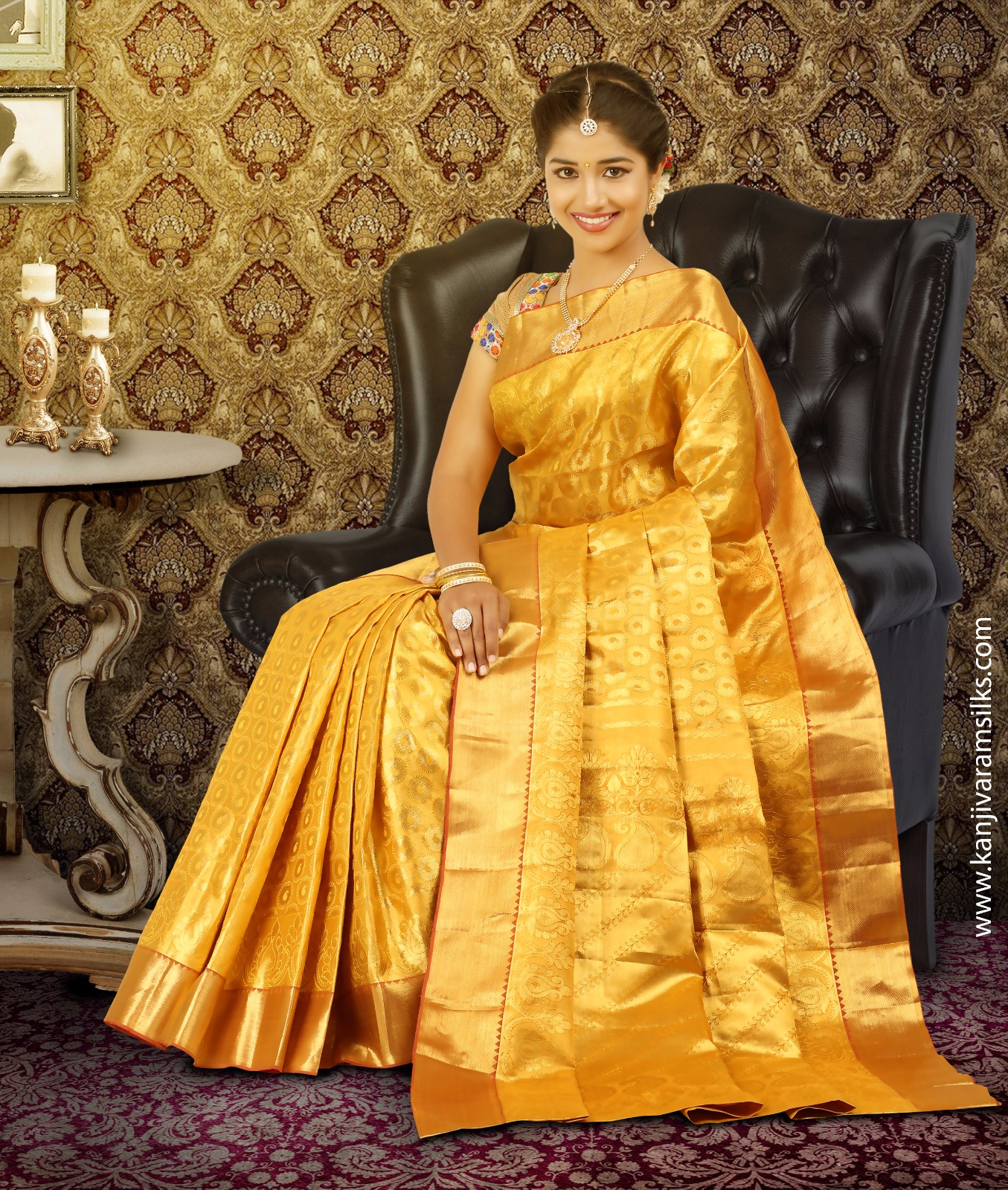 Bridal Kanjivaram Sarees Launched at Kanchipuram Saree Store