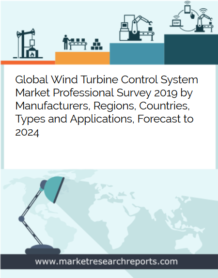 Global Wind Turbine Control System market is growing at a CAGR of 2.78% and expected to reach USD 1.32 Billion by 2024 from USD 1.12 Billion in 2018