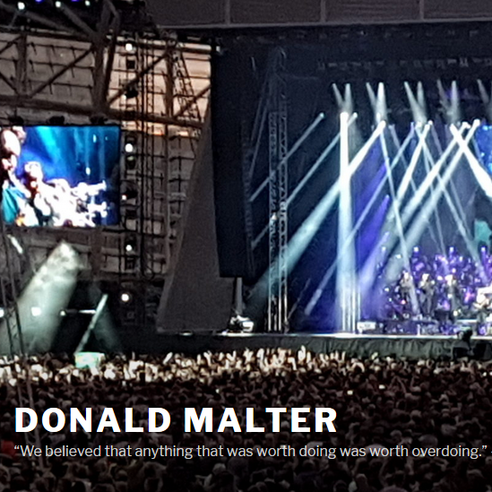 Donald Malter launches new Music Portal DonaldMalter.com