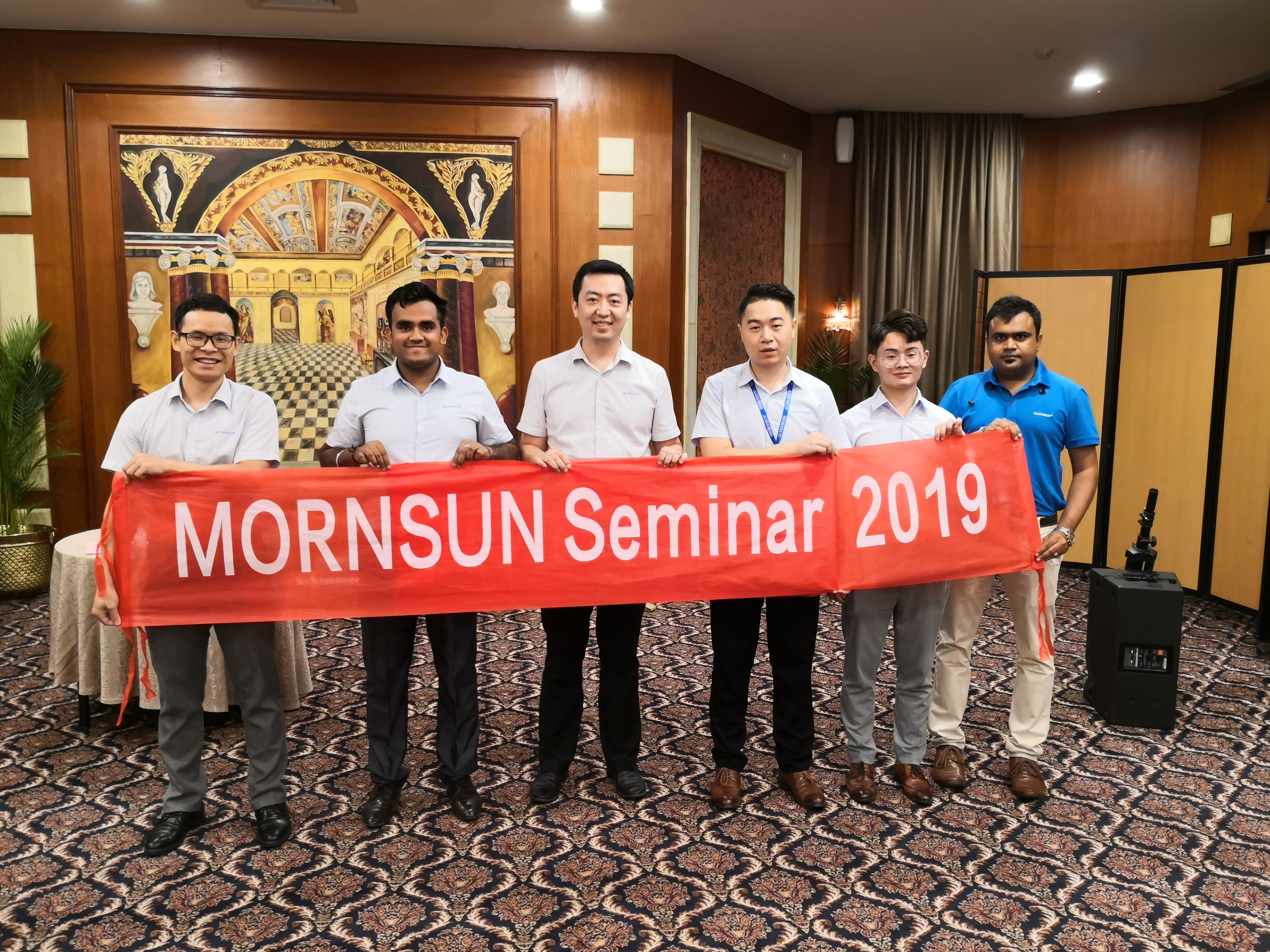 MORNSUN Stands High as it successfully Concludes 2019 India Seminars