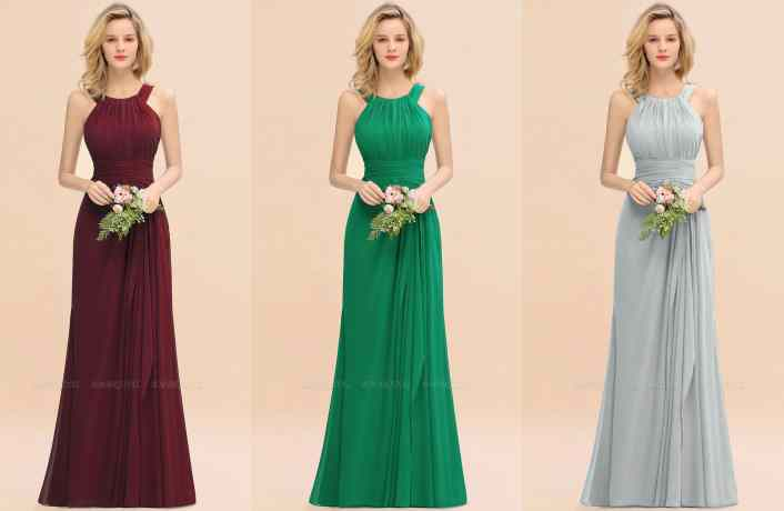 The Most Popular Bridesmaid Dress Colors for Fall Weddings